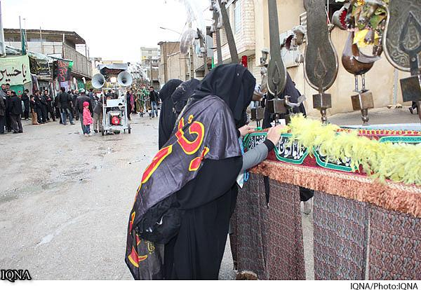 آیین «چهل منبر» در خرمآباد + عکس