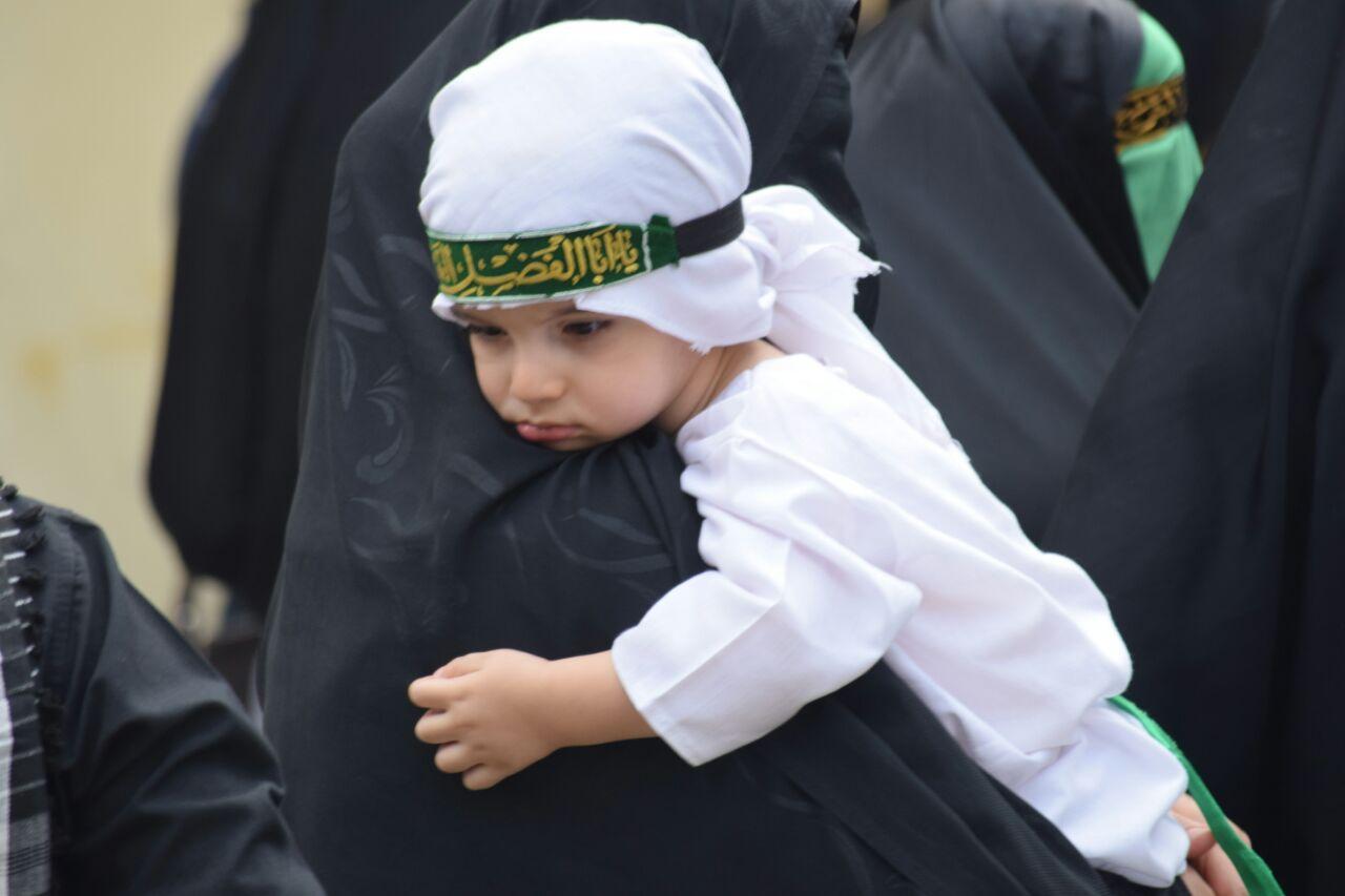 گزارش تصویری آیین عزاداری بانوان خرمآبادی