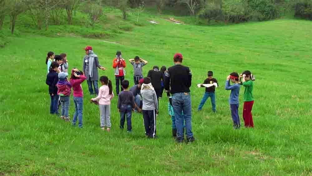 مدرسهای برای کودکان علاقهمند به طبیعت