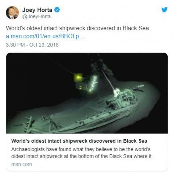 قدیمیترین کشتی غرق شده، دست نخورده پیدا شد