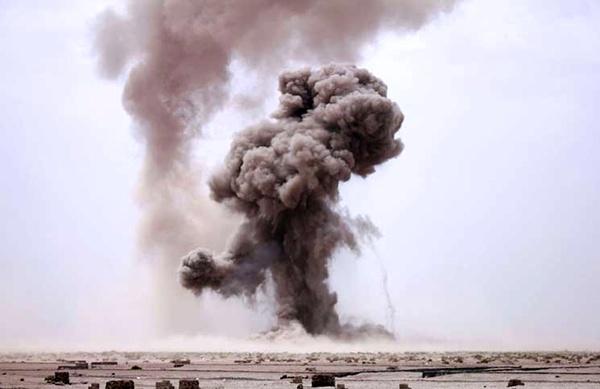 حملات «قاصف ۱» به پایگاه هوایی «ملک خالد» عربستان