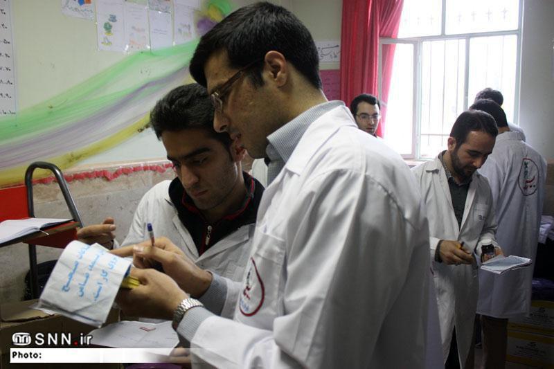 اردوی پربار دانشجویان جهادی شهید همت در پاکدشت/ از خدمات پزشکی تا ایجاد «اتاق بازی کودک»