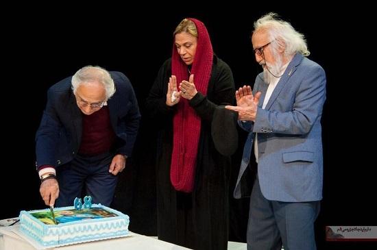 آرزوی شمس لنگرودی در جشن تولدش
