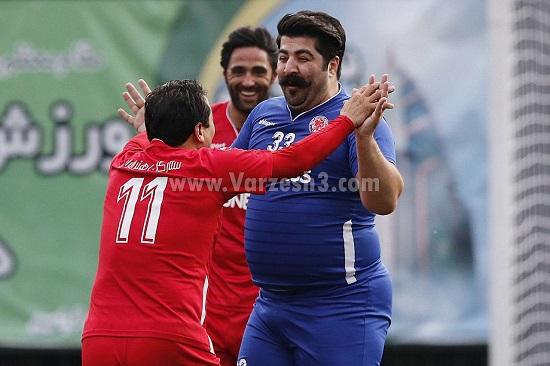 شادی جنجالی گلزن استقلال در دربی!