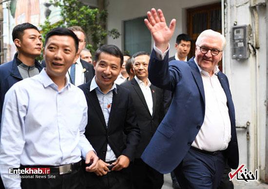 گشت و گذار ریاست جمهور آلمان در چین