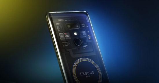 تلفن همراه متمایز اچتیسی مجهز به بلاکچین