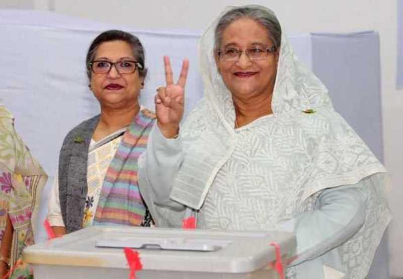 حزب حاکم بنگلادش در انتخابات پارلمانی برنده شد