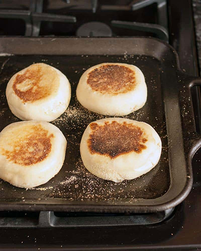 نان مافین انگلیسی ؛ نان مافین صبحانه و بدون احتیاج به فر
