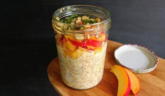 طرز تهیه چندین اوتمیل اورنایت؛ صبحانه پر فیبر و لاکچری