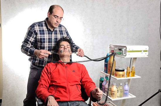 در آرایشگاه های مردانه بالاشهر چه خبر است؟