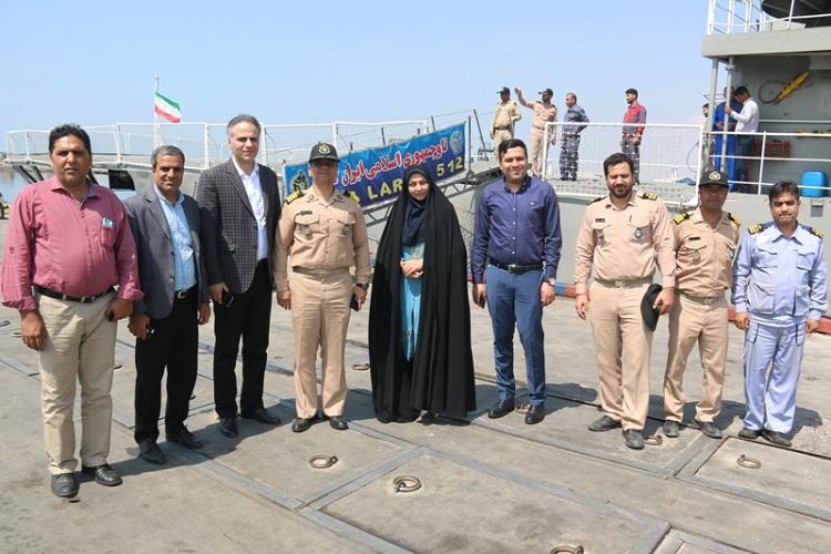 انتخاب رزم ناو سهند برای اهتزاز پرچم ایران در روز ملی خلیج فارس