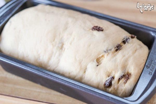 نان کشمش و دارچین برای دوستداران کشمش