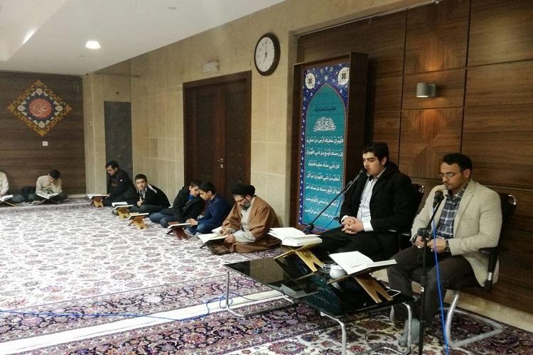 برگزاری جلسات زیباخوانی قرآن بین دانش آموزان در مراغه
