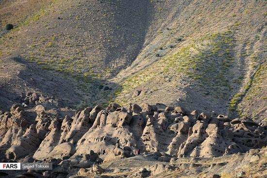 هیولاهای سنگی در چند کیلومتری مرکز پایتخت