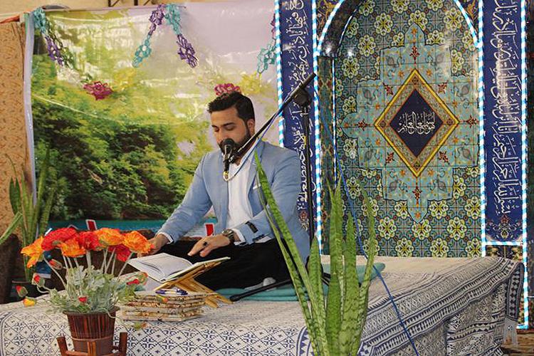 برپایی کرسی تلاوت قرآن ویژه مددجویان زندان مرکزی یزد