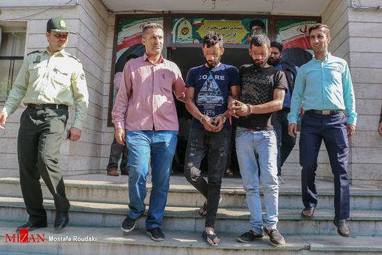 دستگیری دوقلوهای جاعل