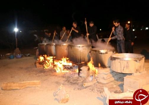 برگزاری مراسم عزاداری شب عاشورا در خراسان جنوبی+تصاویر