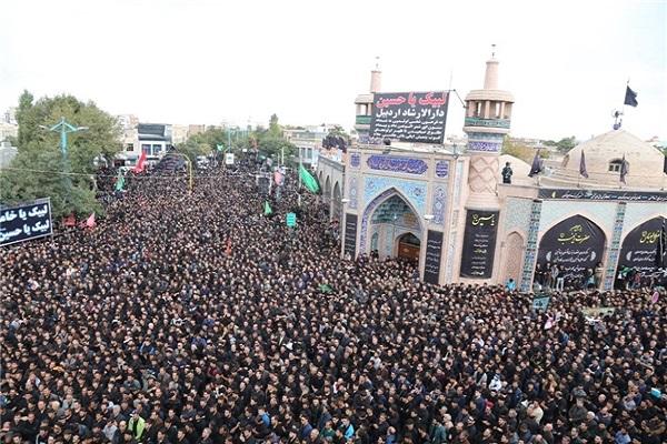 اوج دلدادگی به سیدالشهدا در پایتخت حسینیّت