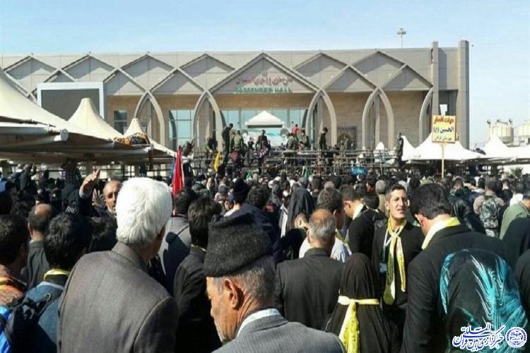 ورود 29 هزار نفر به کشور از مرز مهران