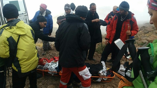 ۳ کوهنورد حادثهدیده در سبلان نجات یافتند