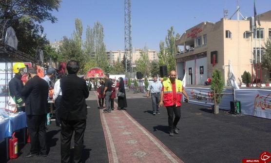 مانور عملیات امداد و نجات به مناسبت روز آتشنشانی در تبریز/ چشماندازی از آبشار جذاب شیرآباد در رامیان + فیلم و تصاویر