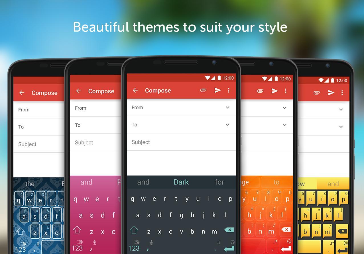دانلود SwiftKey Keyboard  برای اندروید و Ios / صفحه کلید قدرتمند برای تایپ سریع و هوشمند