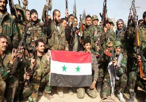 استقبال ارتش سوریه از عقب نشینی گروههای مسلح