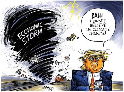 آقای رئیسجمهور، مراقب گردباد باش!