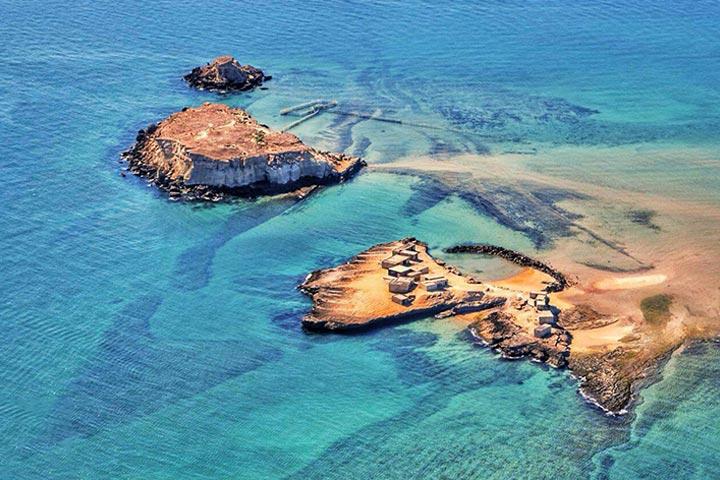 جزیره ناز   جاهای دیدنی قشم با عکس