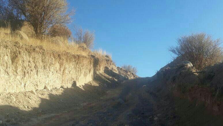 تخریب تپه پری خان در گوغر بافت