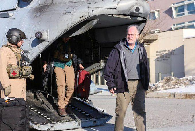 «راس ویلسون» به عنوان سرپرست سفارت آمریکا در کابل مشغول به کار شد