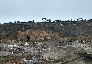 وضع نامناسب بهداشت در معابر محله آزادگان پارسآباد مغان + فیلم و تصاویر