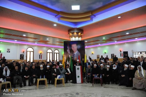 مراسم گرامیداشت شهادت سپهبد سلیمانی از سوی علمای دروزی سوریه