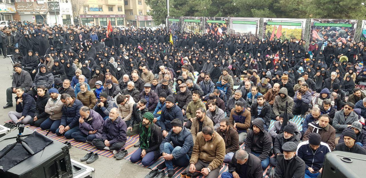 تجمع فاطمیون تهران در سعادتآباد برگزار شد