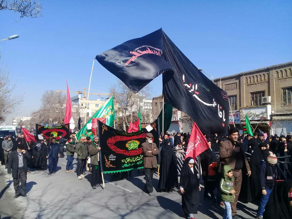تصاویری از اجتماع عظیم مردم مشهد در روز شهادت یاس کبود