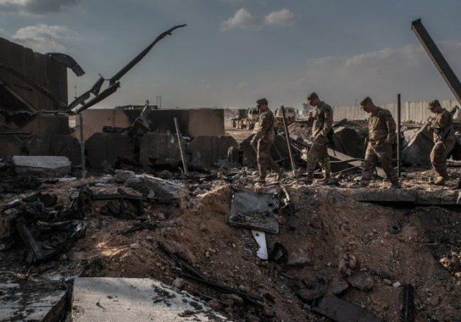 حمله موشکی ایران به پایگاه هوایی عینالاسد در عراق