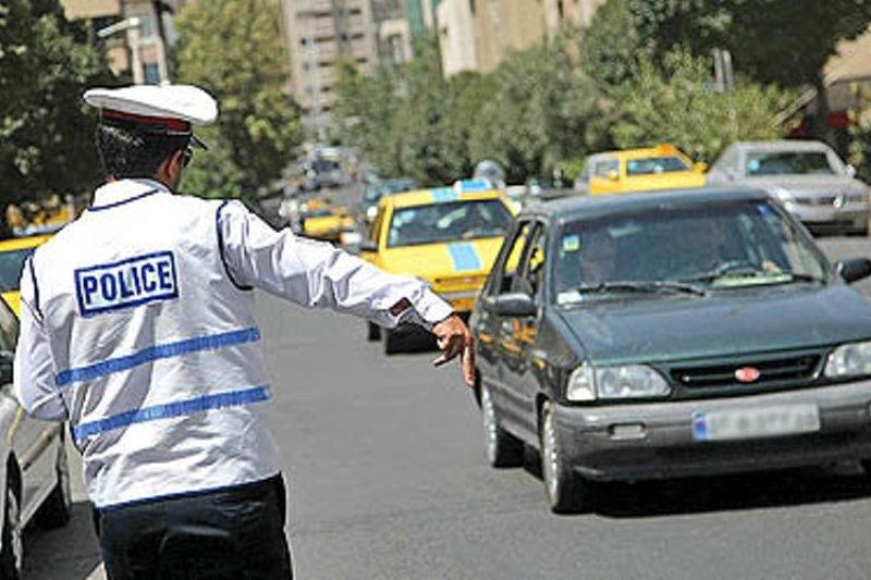 خط و نشان پلیس یزد برای خودروهایی که از مسیرهای مسدود عبور کنند