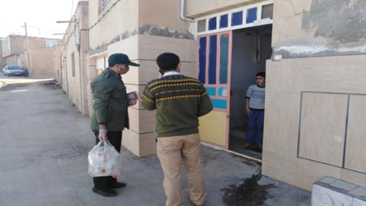 توزیع یک هزار و ۸۰۰ بسته بهداشتی در چهارمحال و بختیاری