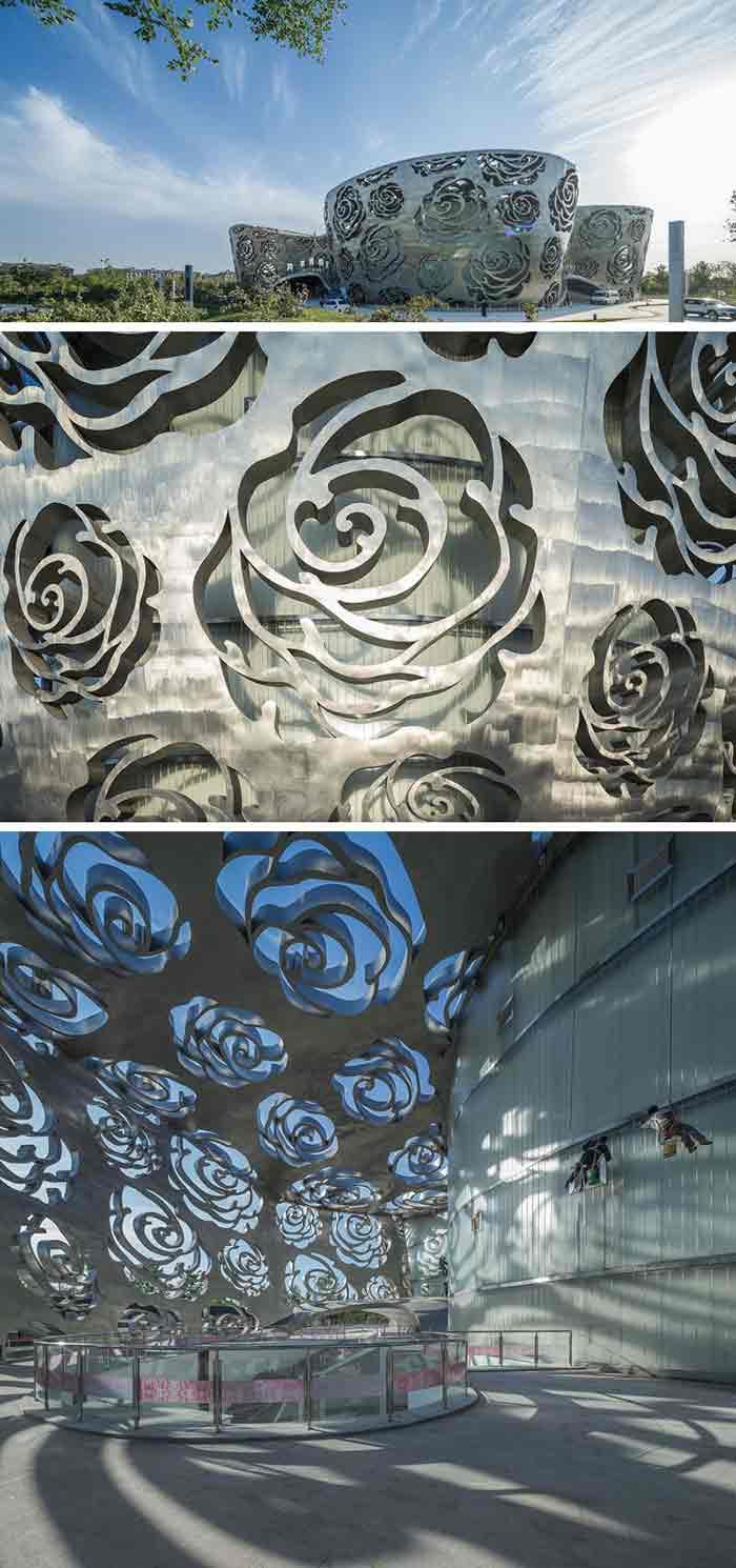 تلفیق مدرنیته، هنر و تاریخ در اولین موزه گل رز جهان