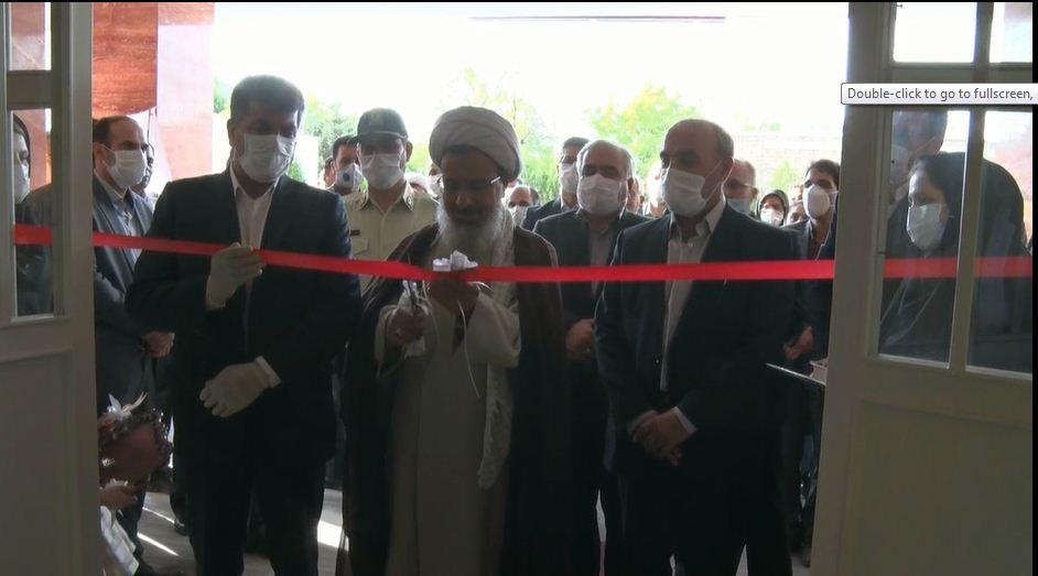 افتتاح ساختمان ستاد شبکه بهداشت و درمان شهرستان کلیبر